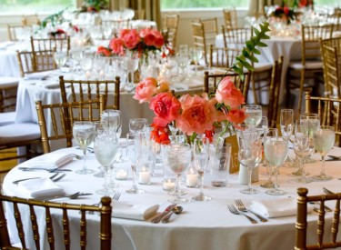 A Wedding Table Setting