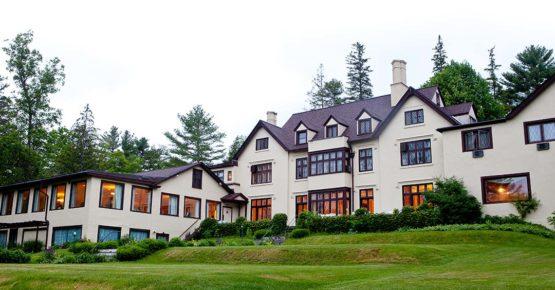 Exterior of Seven Hills Inn